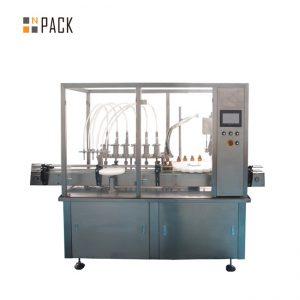 Germê firotina otomatîkî Bişkokê 2 nozikê makîneya dagirtinê ya herb kulîlka rûnê esasî ya viyale Filling Capping Machine