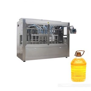 Zeyta zeytûnê zivirî / Blend Oil Filling Labelling Machine